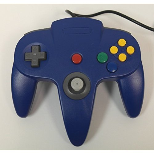 Nintendo Blue Replacement Controller By Mars Devices For N64