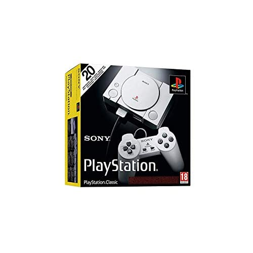 PlayStation Classic Console With 20 Classic PlayStation Games Pre-Installed