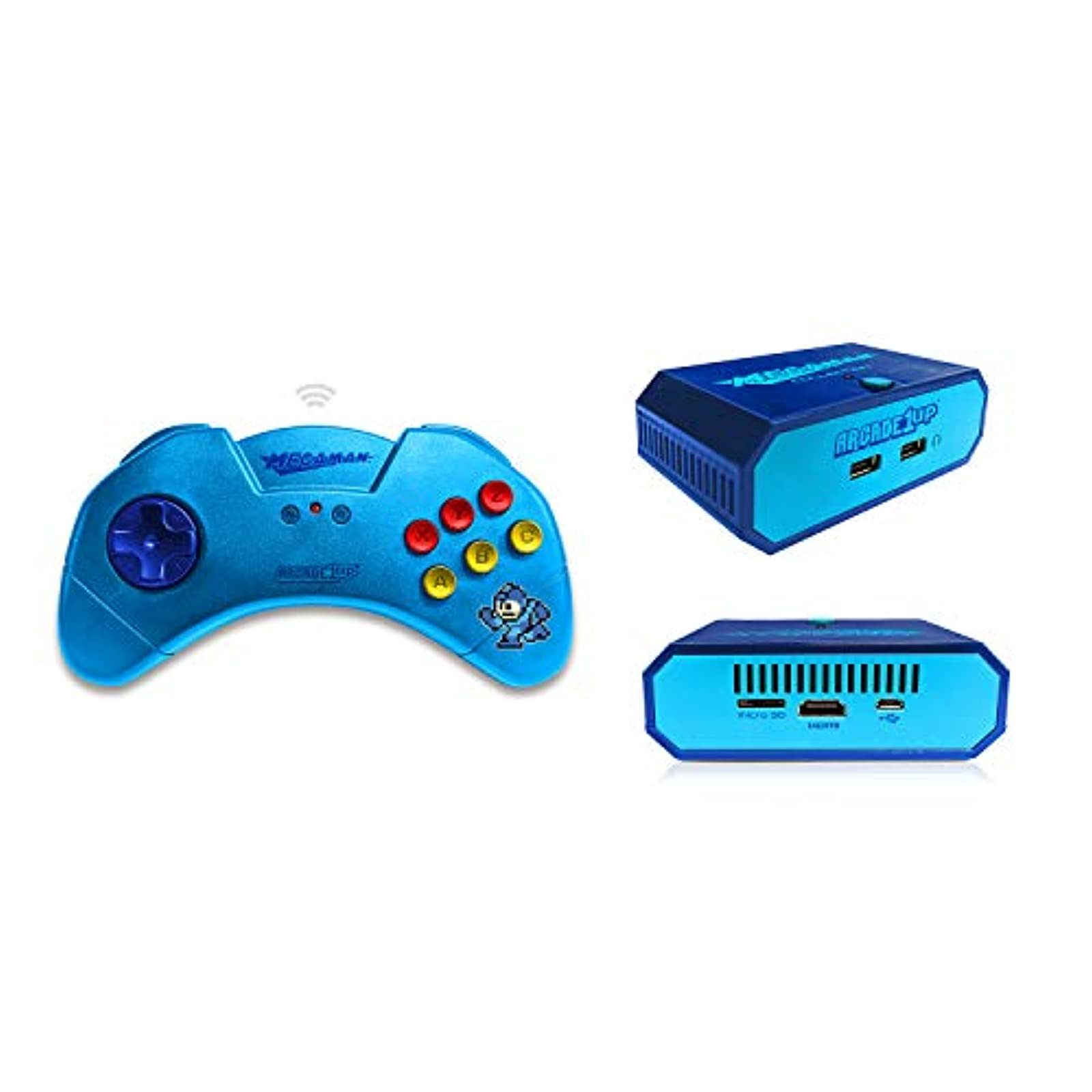 ARCADE1UP Mega Man HDMI Game Console With Wireless Controller