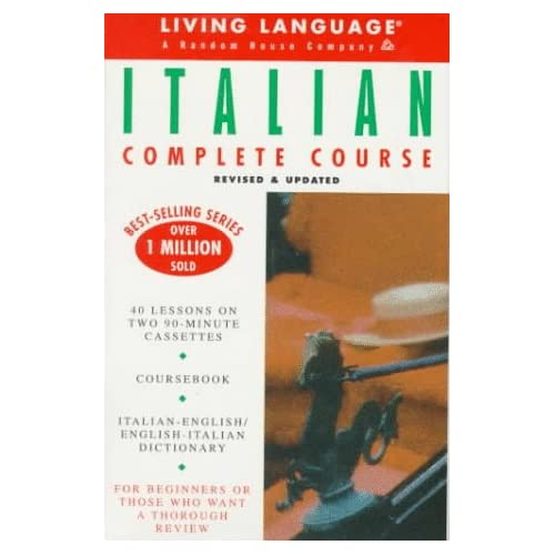 Basic Italian: Cassette/book Package Ll Complete Basic Courses By