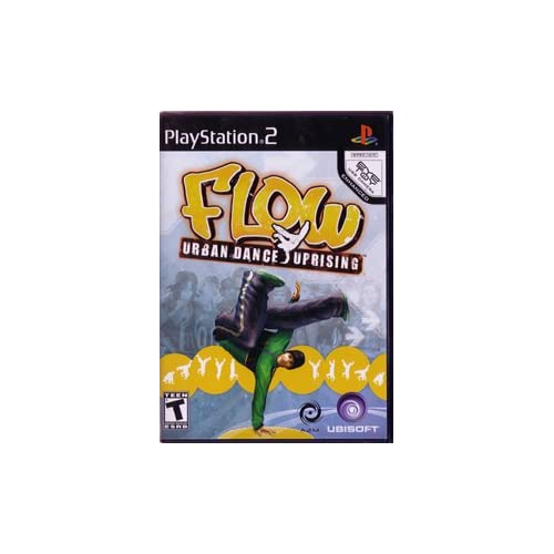 Flow Urban Dance Uprising For PlayStation 2 PS2 Music