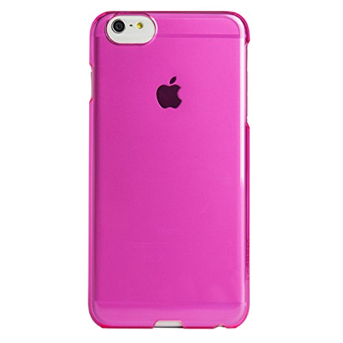 AGENT18 iPhone 6 Plus Clearshield Pink Translucent Case Cover Fitted