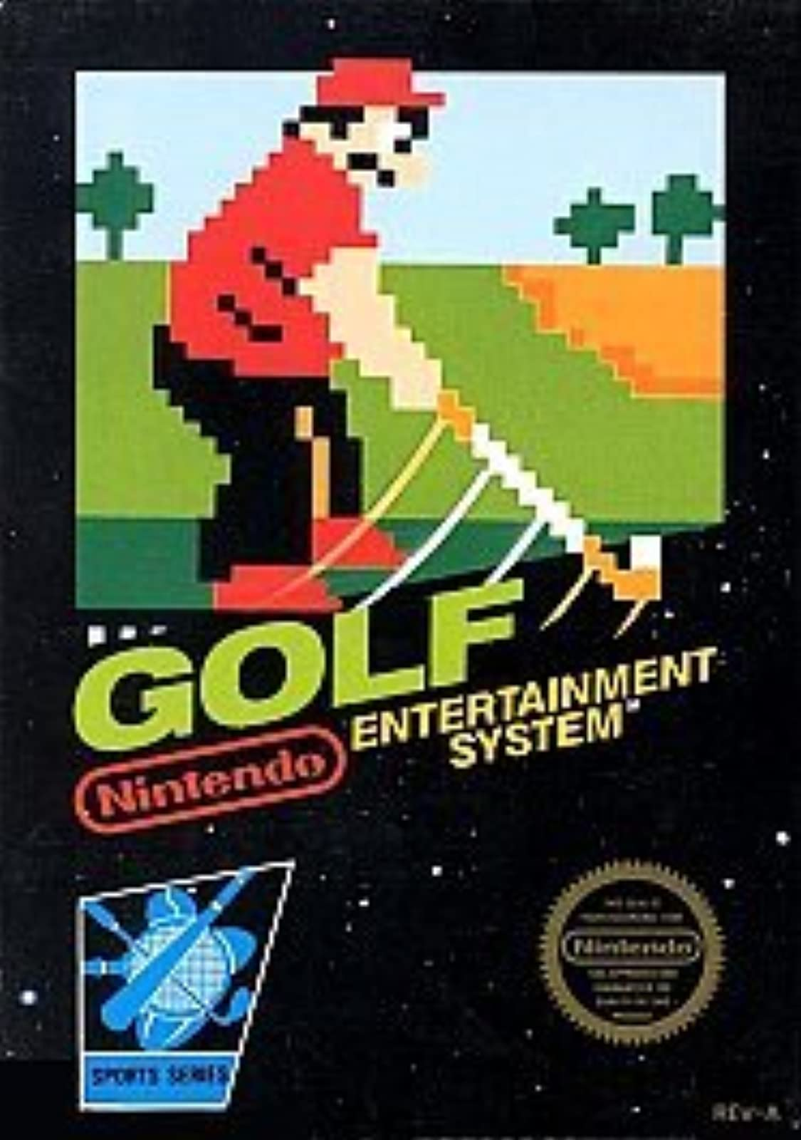 Golf For Nintendo NES Vintage
