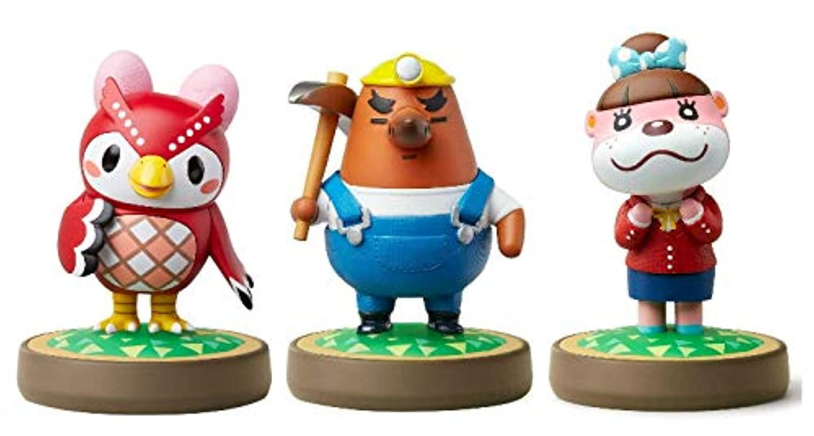 Celeste Lottie Amiibo Animal Crossing Series For Nintendo Switch 3 Pack Figure