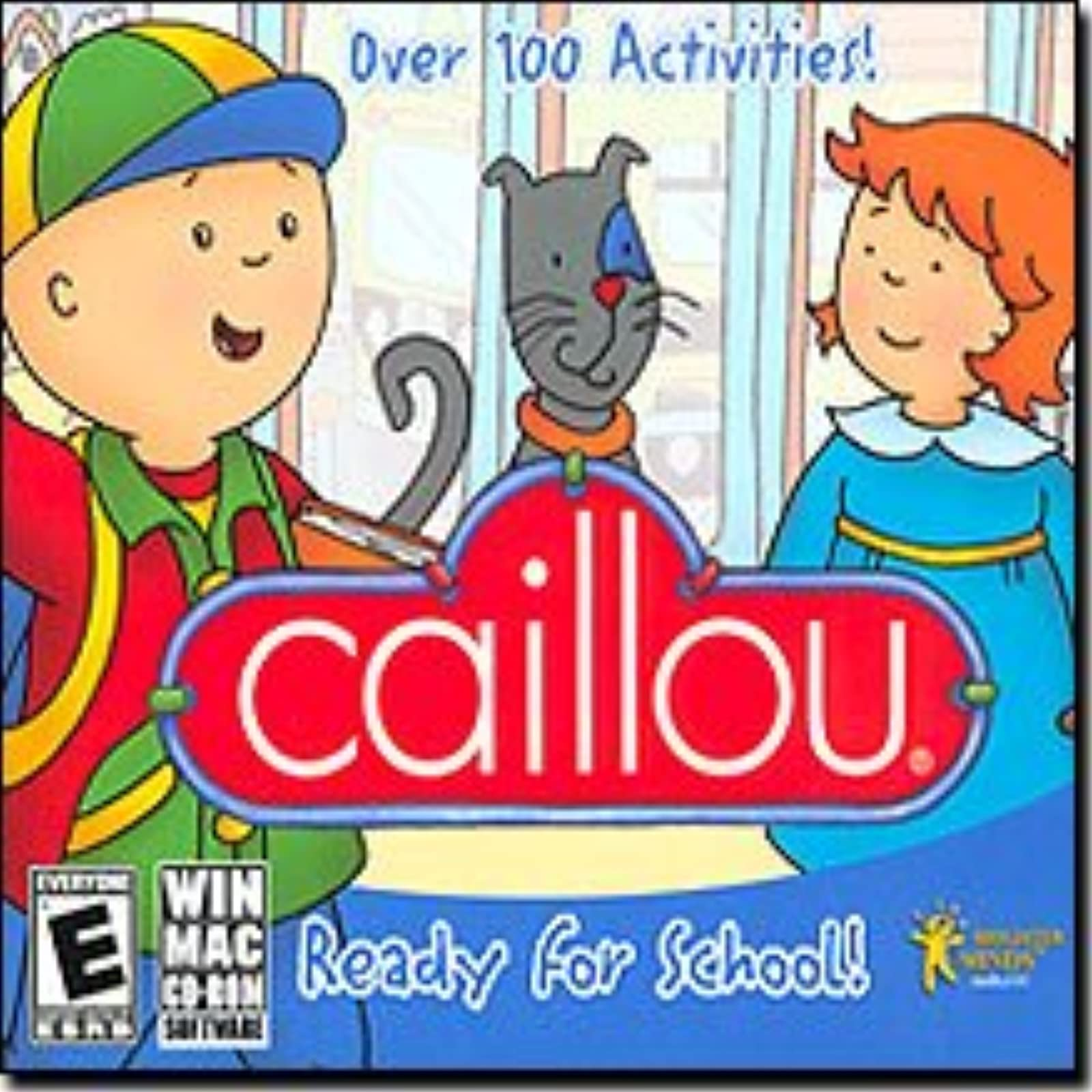 Caillou Ready For School PC & MAC Software
