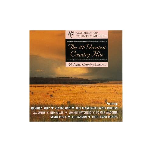 101 Greatest Country Hits Vol 9: Country Classics On Audio CD Album 19