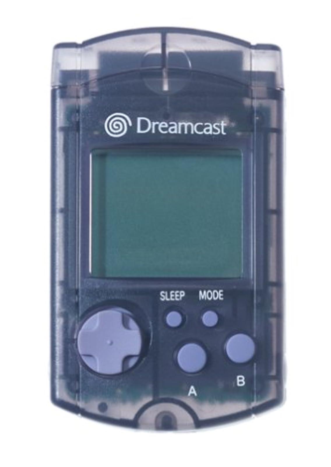 Black Visual Memory Unit VMU For Sega Dreamcast Card Expansion EVZ216
