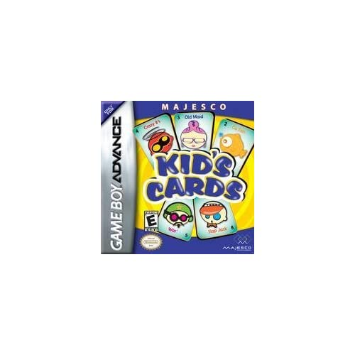 Kids Cards For GBA Gameboy Advance