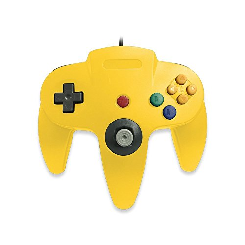 Generic N64 Wired Classic Controller Yellow