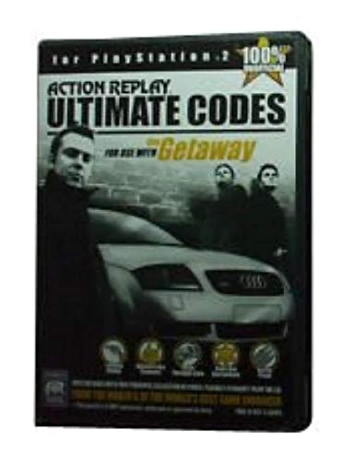 Action Replay Ultimate Codes For Use With The Getaway For PlayStation 2 PS2