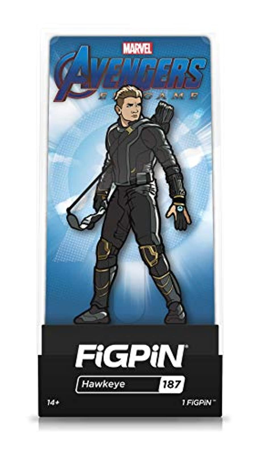 Figpin Avengers Endgame: Hawkeye Collectible Pin With Premium Display Case Not T