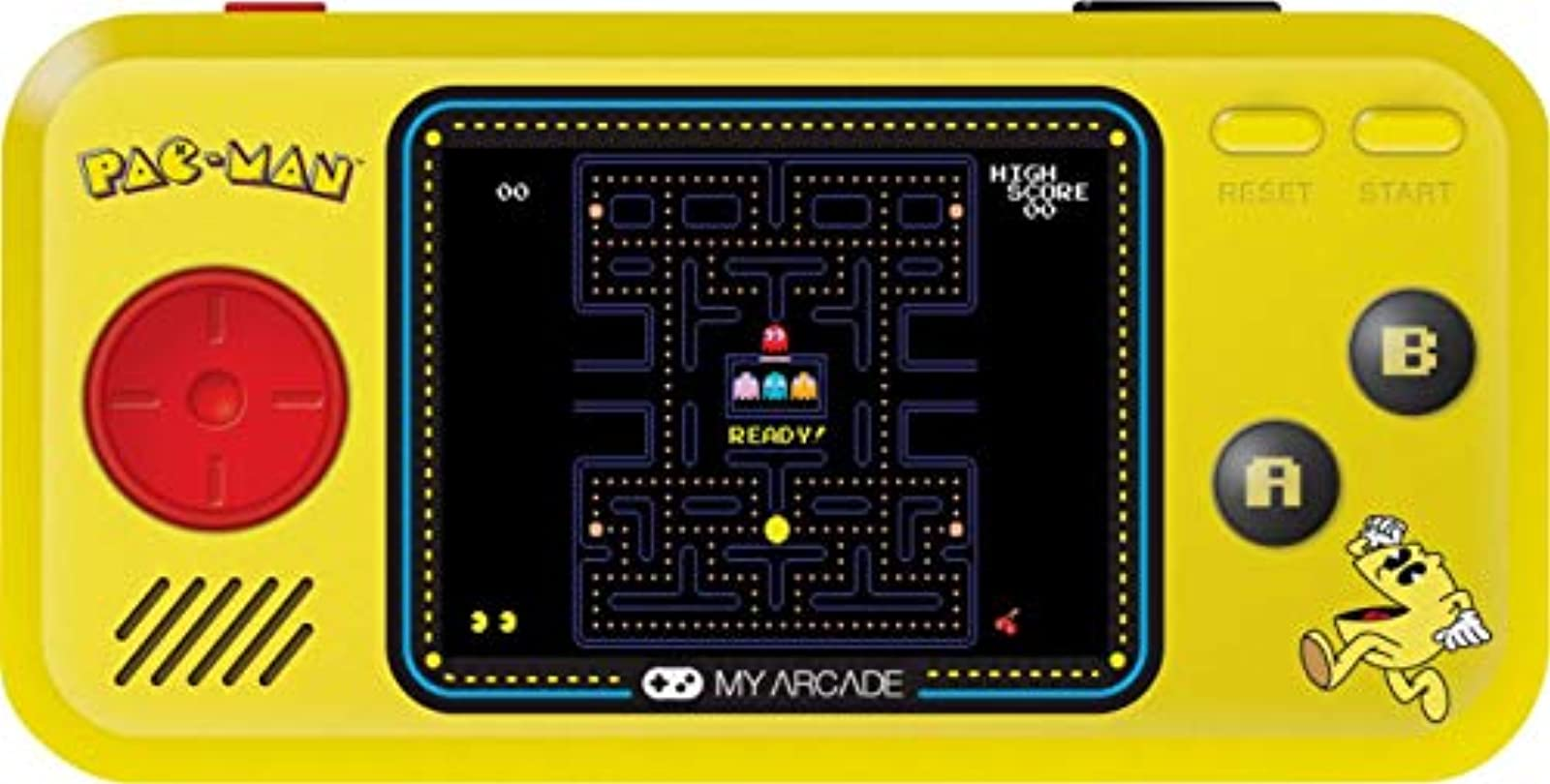 My Arcade Pocket Player Handheld Game Console: 3 Built In Games Pac-Man Pac-Pani