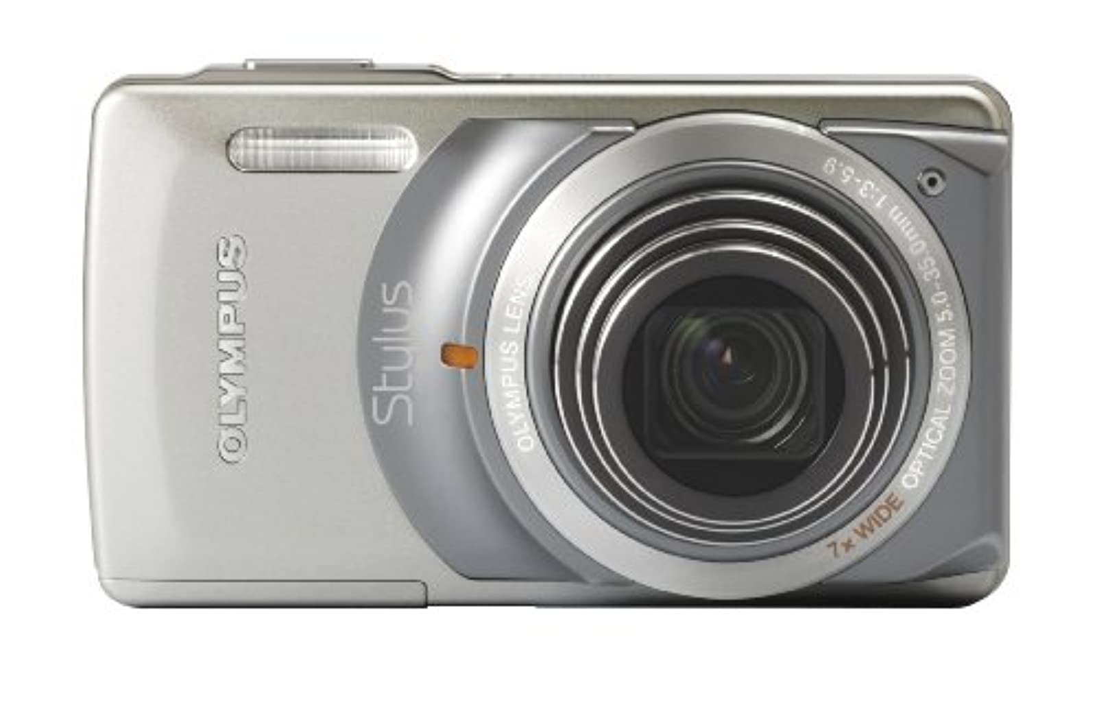 Olympus Stylus 7010 12MP Digital Camera With 7X Dual Image Stabilized Zoom And 2