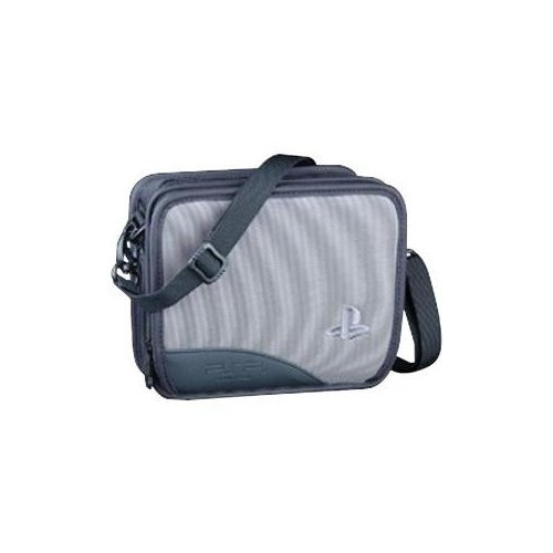 ALS Industries PSP50 Deluxe Carrying Case For PSP Gray UMD Grey Multi-Color