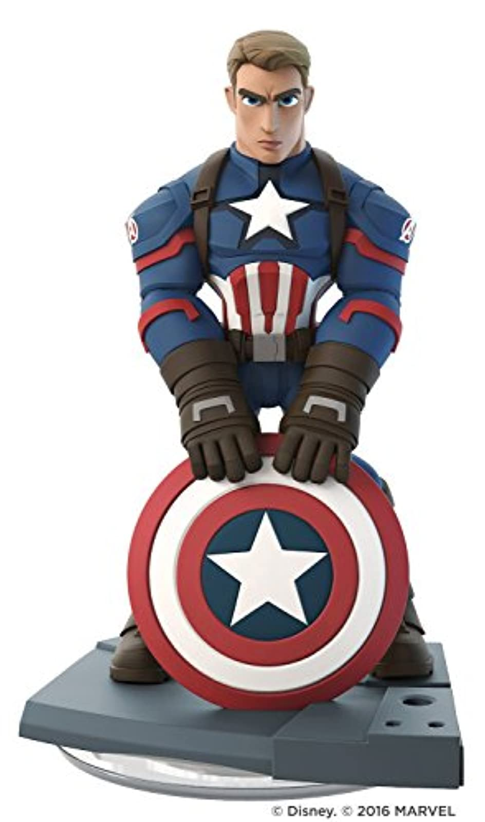 Captain America Disney Infinity Marvel Figure Loose No Card Character