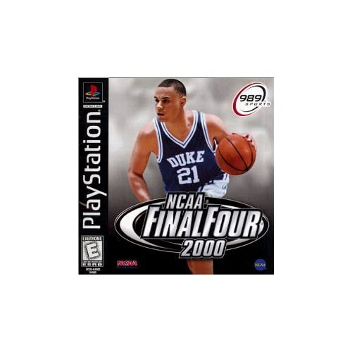 NCAA Final Four 2000 For PlayStation 1 PS1 4