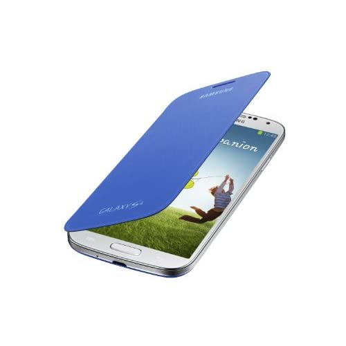 Image 0 of Samsung Galaxy S4 Flip Cover Folio Case Light Blue Fitted