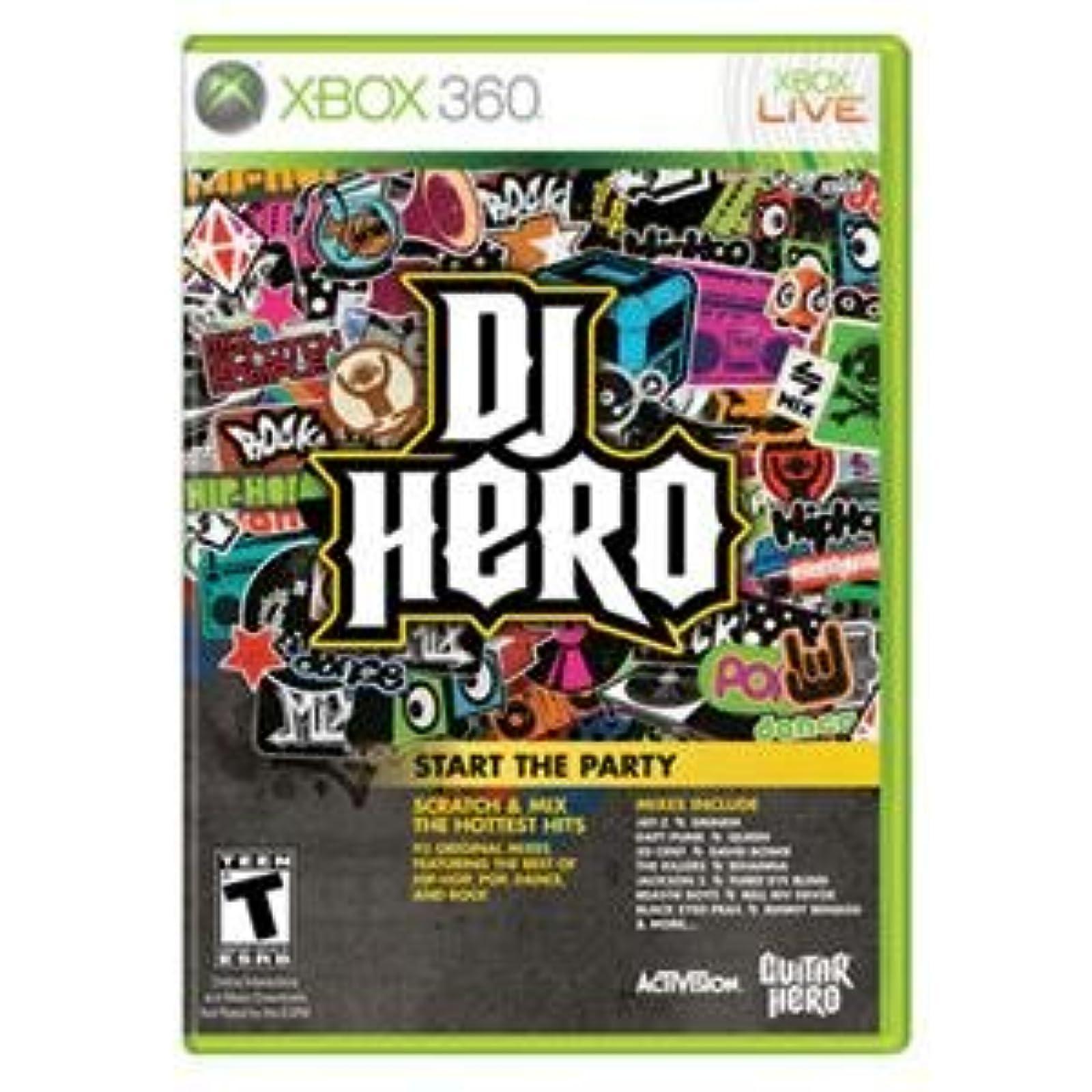 Activision Blizzard Inc DJ Hero 1 X360 Catalog Category: Videogame