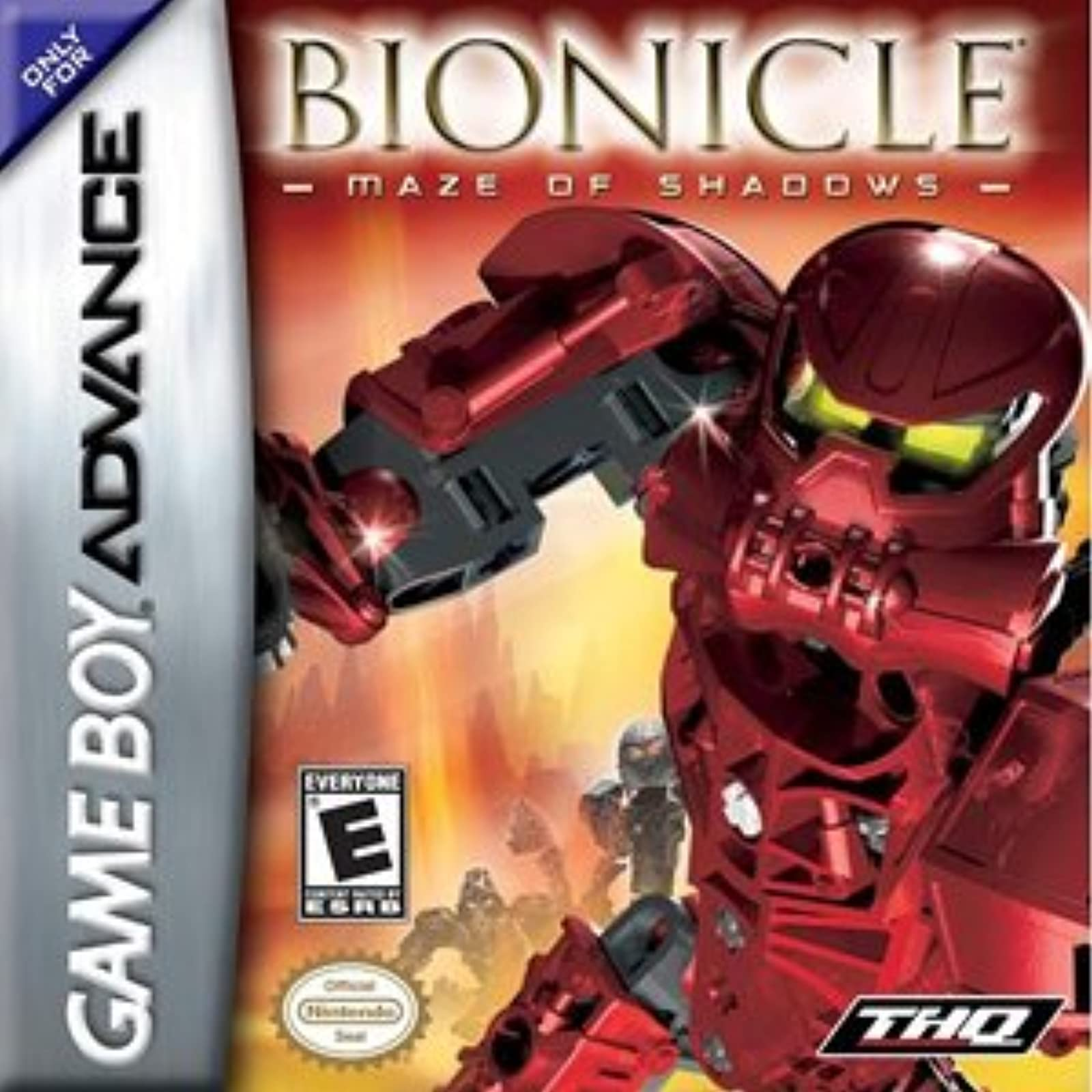 Bionicle: Maze Of Shadows GBA For GBA Gameboy Advance