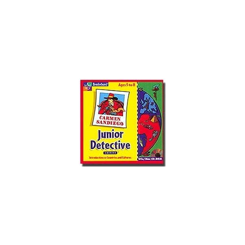 Carmen SanDiego Junior Detective Edition Software