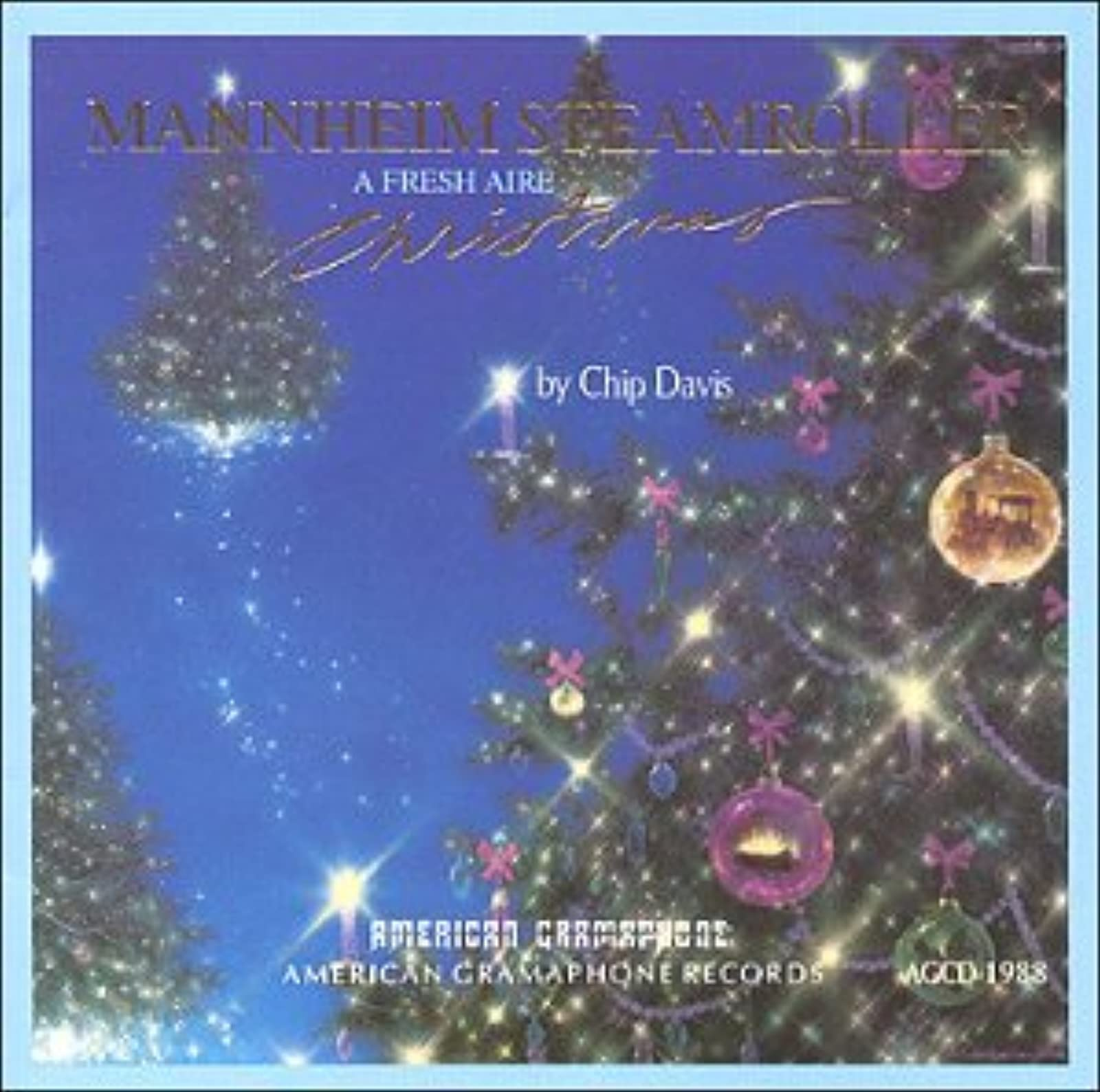 Image 0 of A Fresh Aire Christmas By Mannheim Steamroller On Audio CD Album 2012