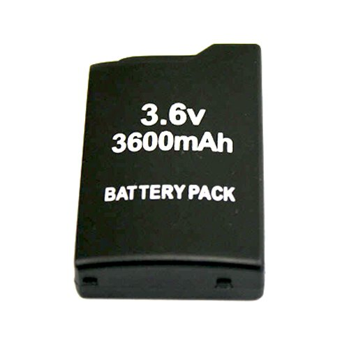 Image 0 of 3600MAH Rechargeable Battery Pack And Back Cover Case For Sony PSP 1000 1001