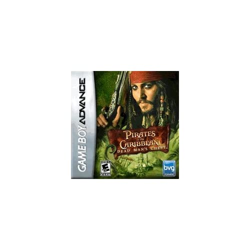 Pirates Of The Caribbean: Dead Man's Chest For GBA Gameboy Advance