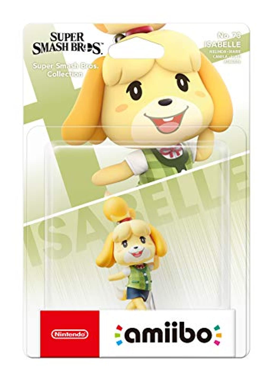 Amiibo Isabelle Nintendo Switch Figure No 73