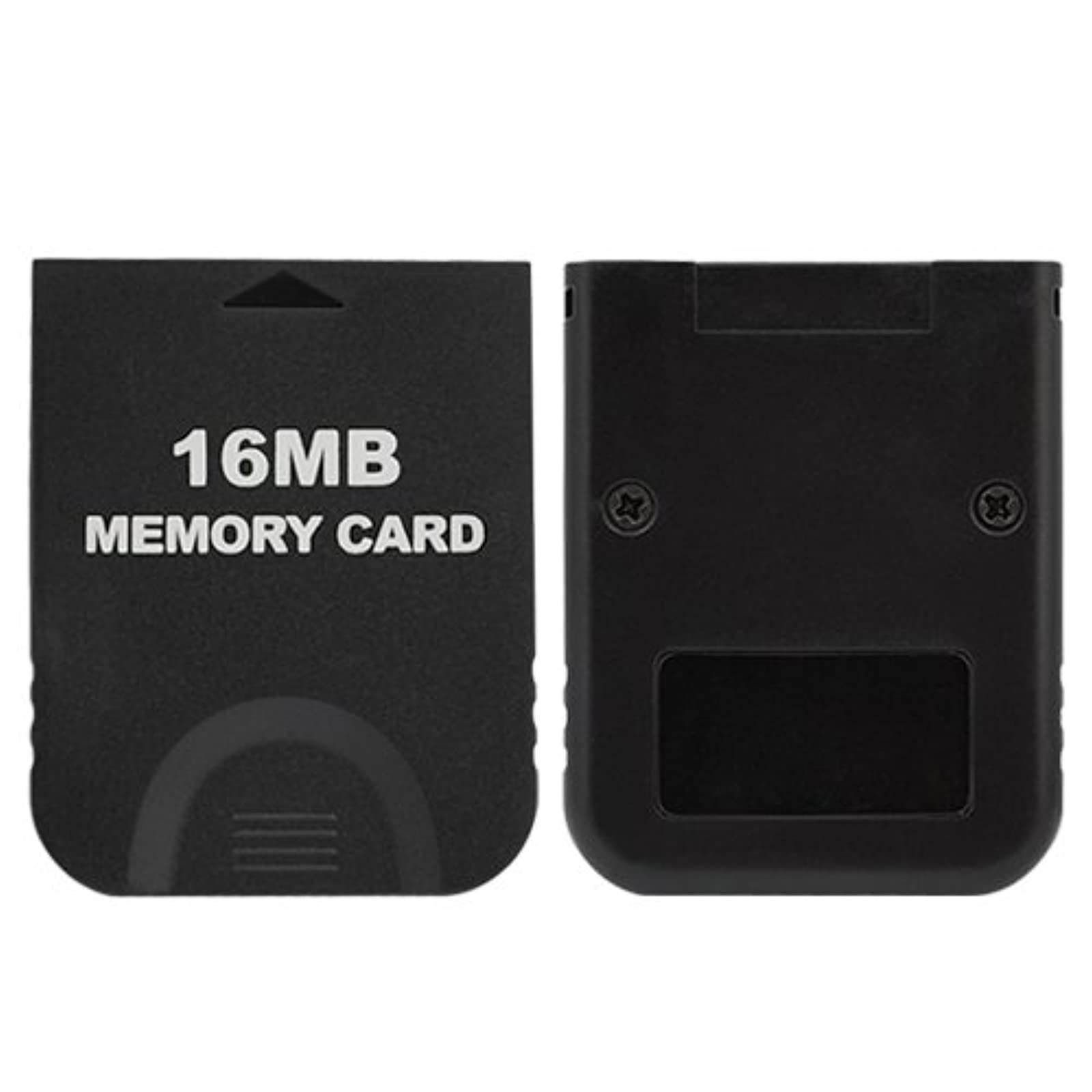 Black 16MB Memory Card For Ninendo Wii / For GameCube Expansion