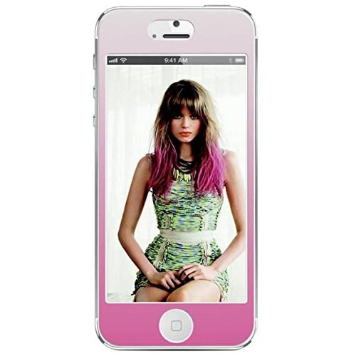 Agent 18 Decorative Screen Protector For iPhone 5 5S 5C SE Pink Ombre