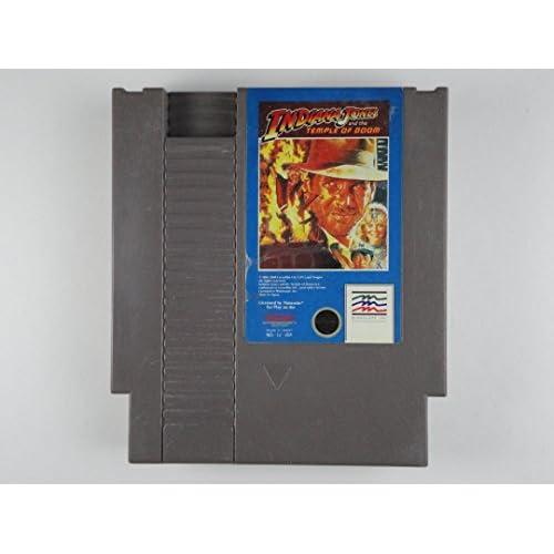 Indiana Jones Temple Of Doom Nintendo NES Cartridge For Nintendo NES Vintage