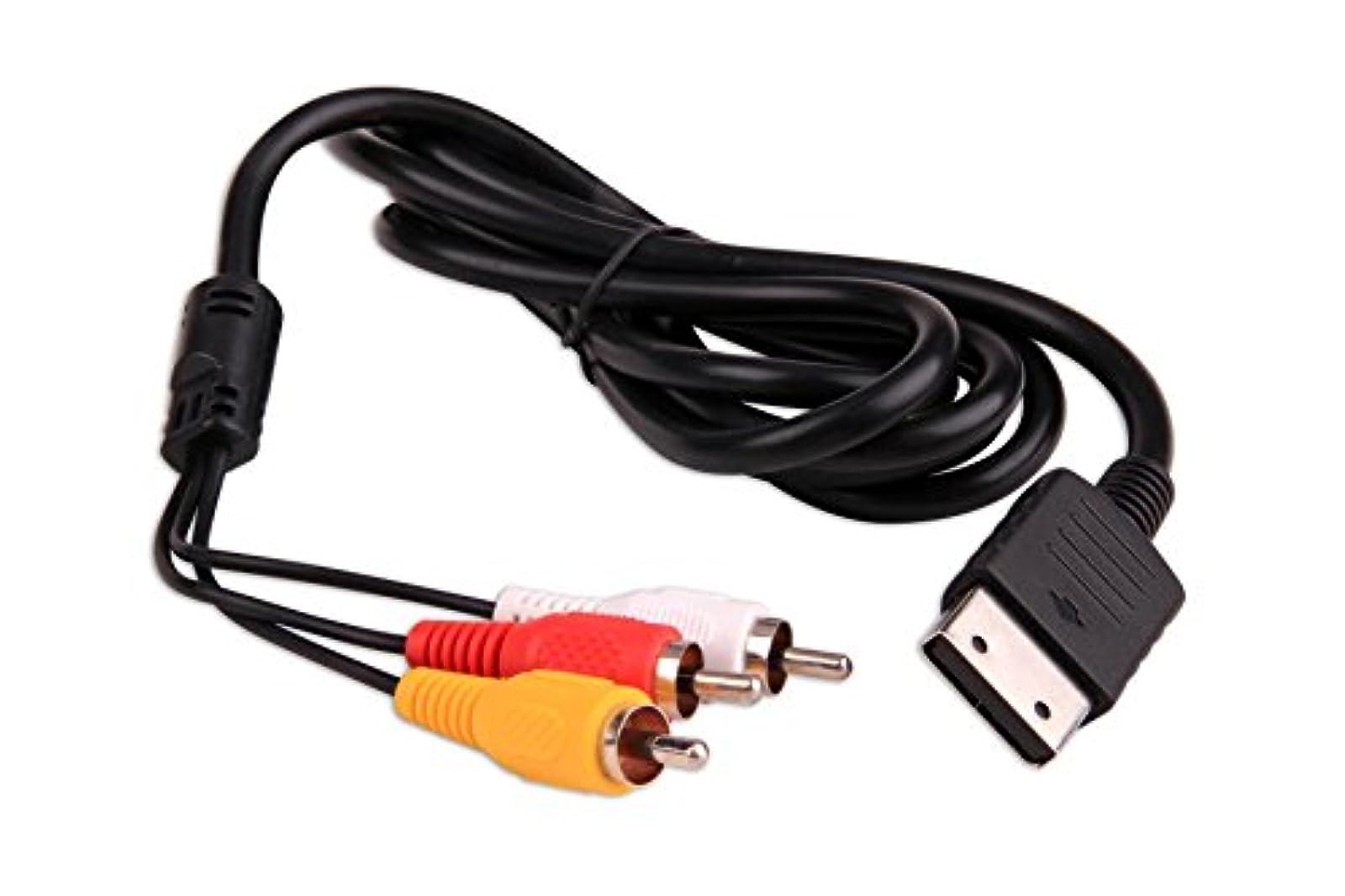 Composite AV Cable For Sega DreamCast By Mars Devices A/V
