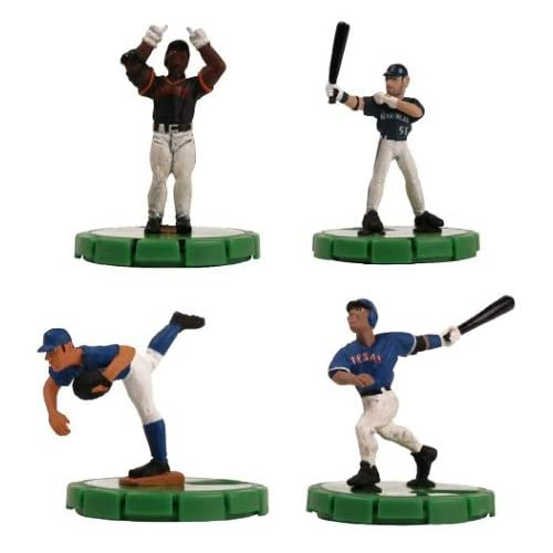 MLB Sportsclix Two-Figure Clamshelled Booster Pack Toy Baseball 2