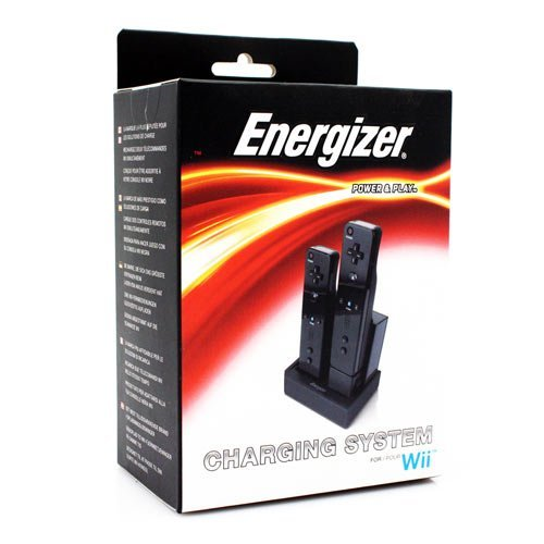 Energizer Power And Play Charging System For Wii For Wii U