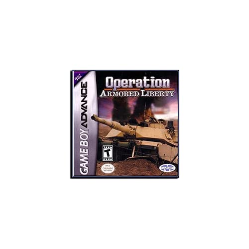 Operation Armored Liberty GBA For GBA Gameboy Advance Arcade