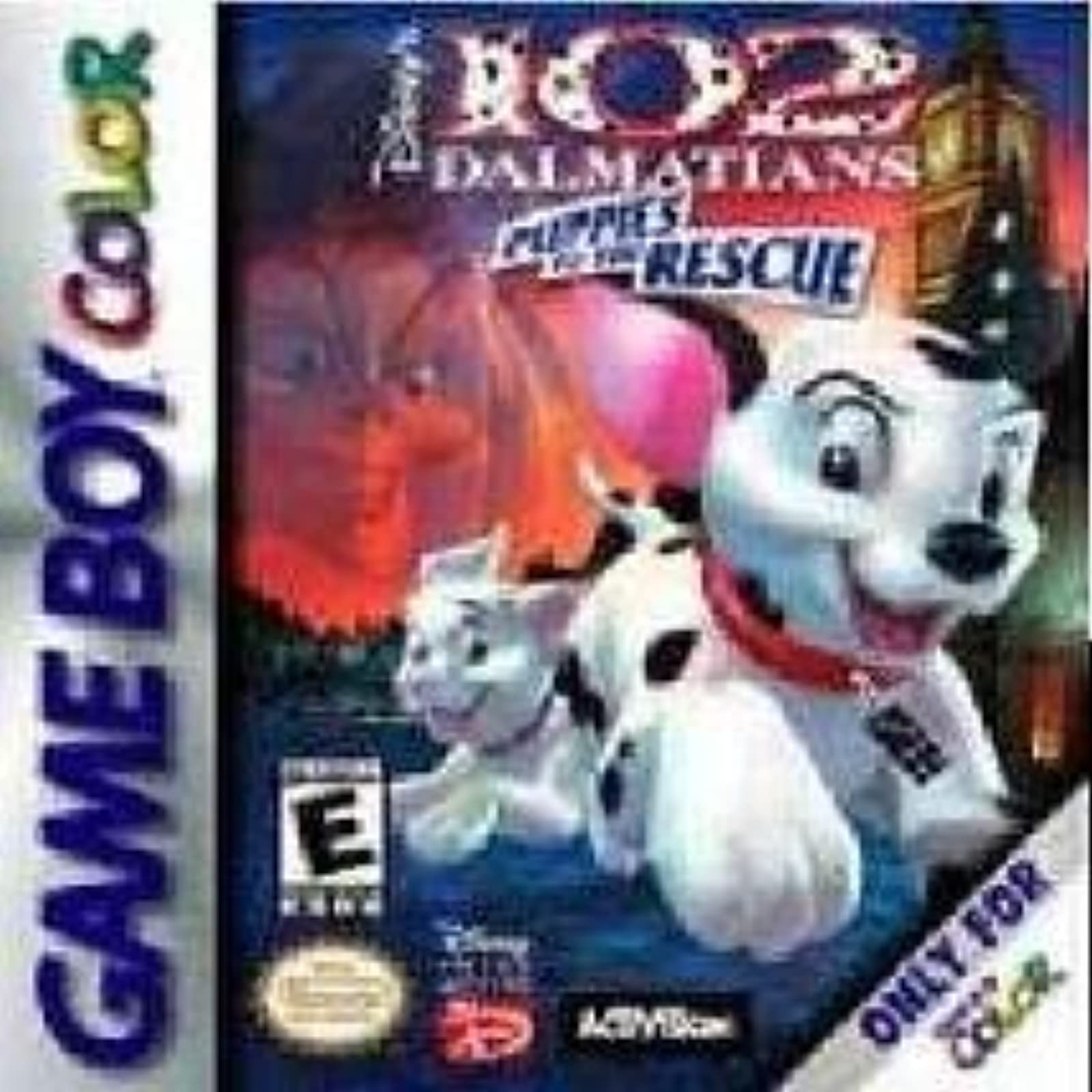 102 Dalmatians: Puppies To The Rescue On Gameboy Color
