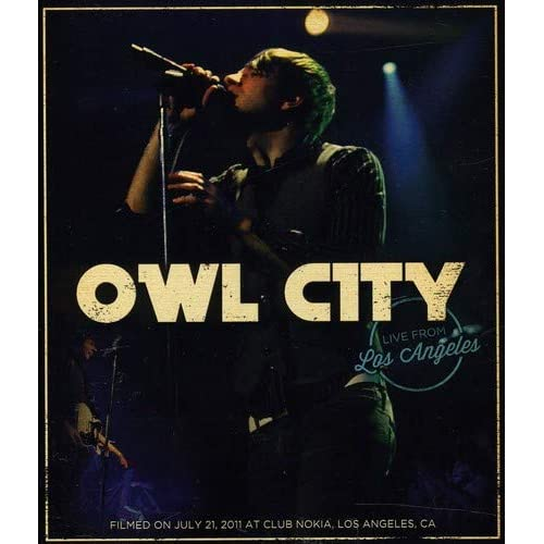Image 0 of Owl City: Live From Los Angeles Blu-Ray On Blu-Ray Music And Concerts Music And