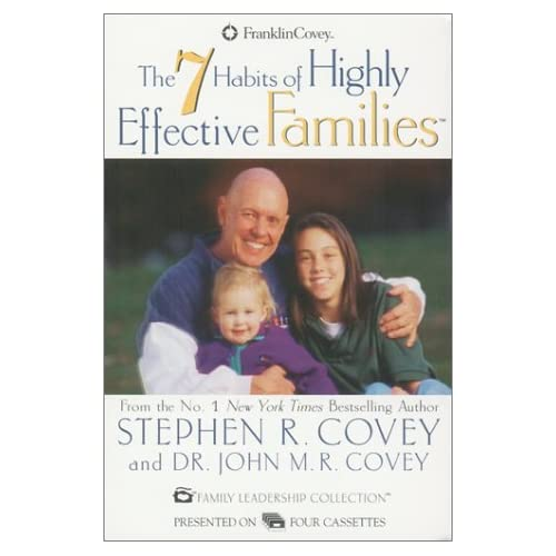 7 Habits Of Highly Effective Families By Stephen R Covey On Audio