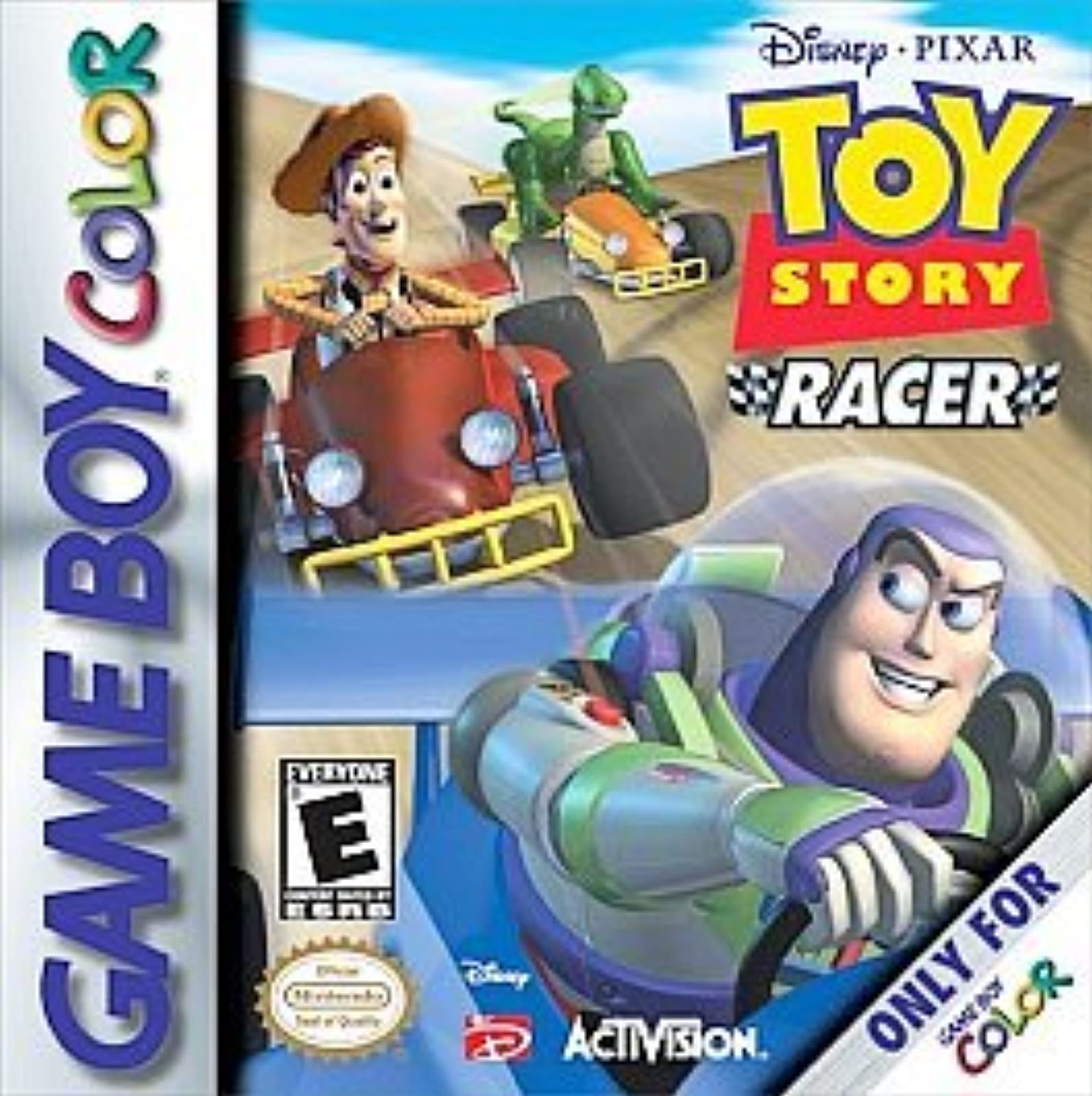 Toy Story Racer On Gameboy