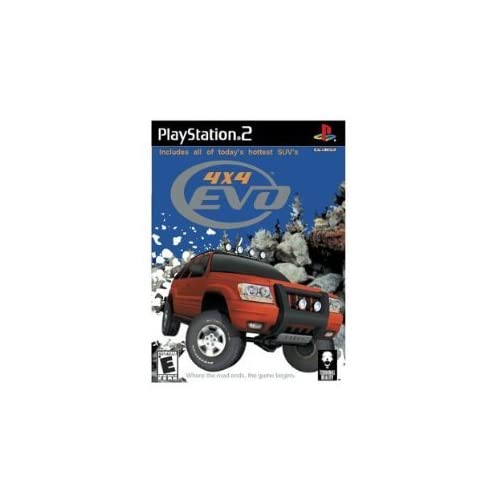 Image 0 of 4X4 EVO For PlayStation 2 PS2 Racing