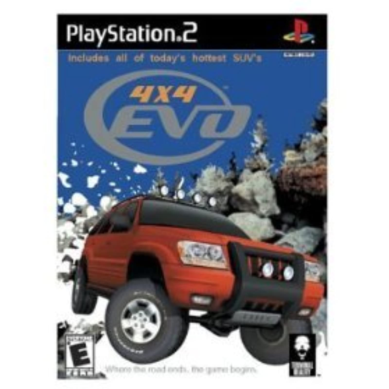 4X4 EVO For PlayStation 2 PS2 Racing