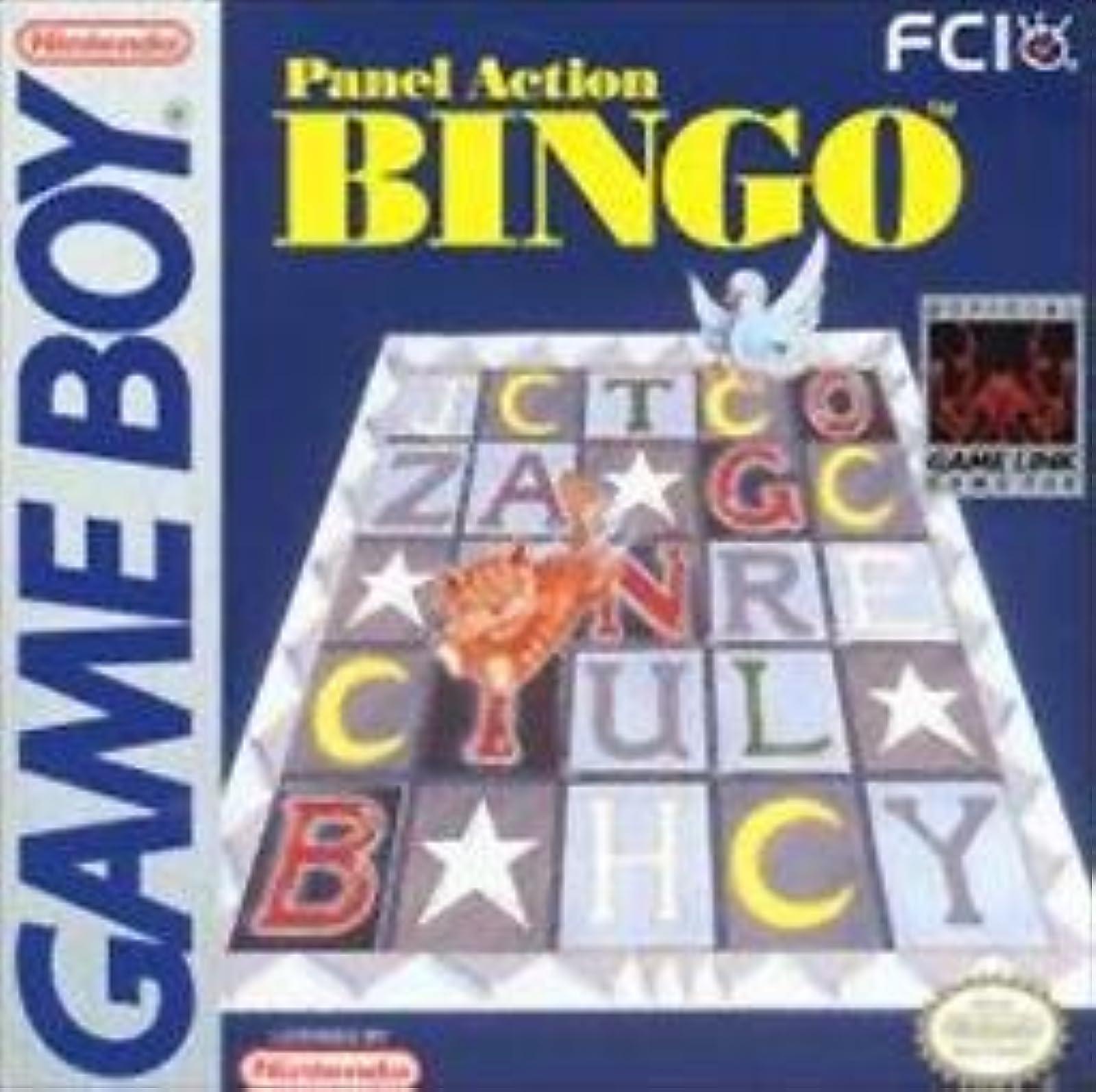 Panel Action Bingo For Arcade On Gameboy