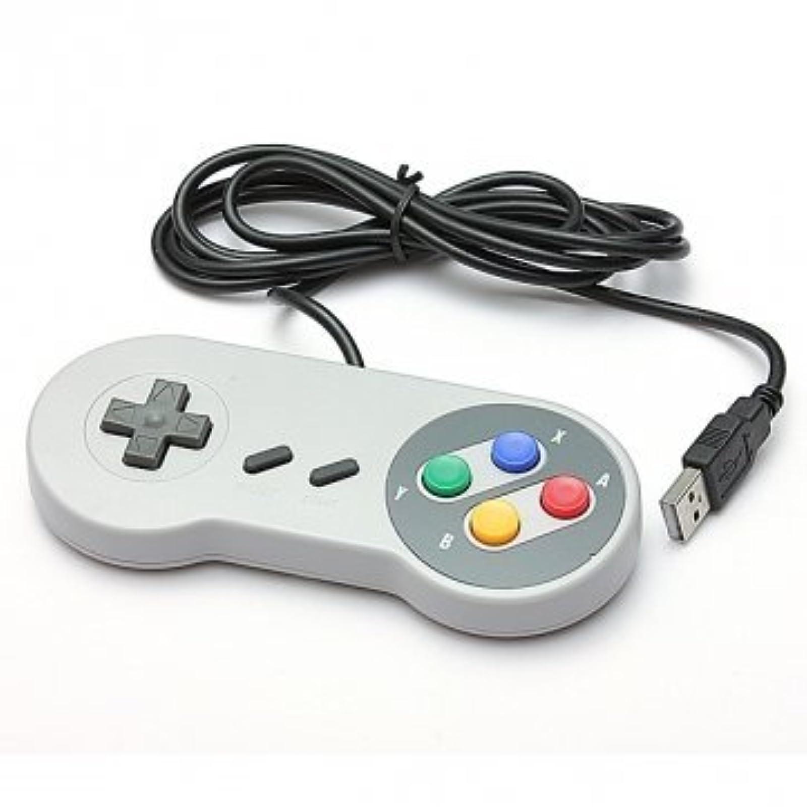 SNES USB Famicom Colored Super Nintendo Style Controller For Pc/mac