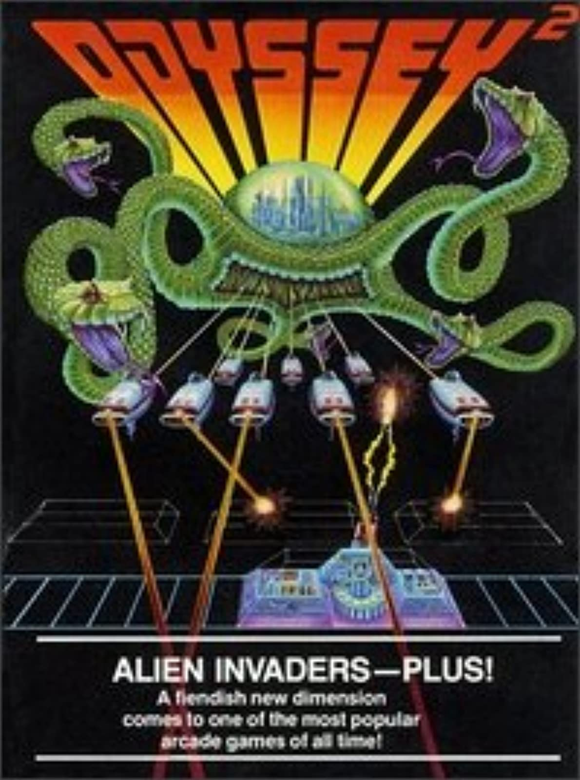 Image 0 of Alien Invaders Plus! Odyssey 2 For Odyssey 2