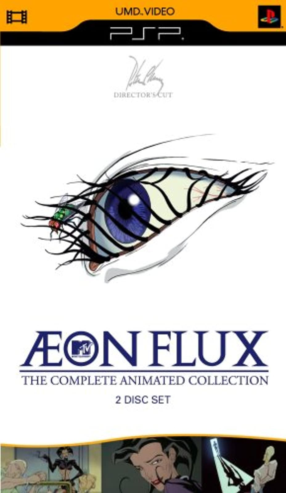 Aeon Flux: The Complete Animated Collection 2 Disc Set For PSP UMD