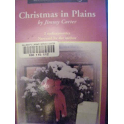 Christmas In Plains Unabridged Audiobook By Jimmy Carter On Audio