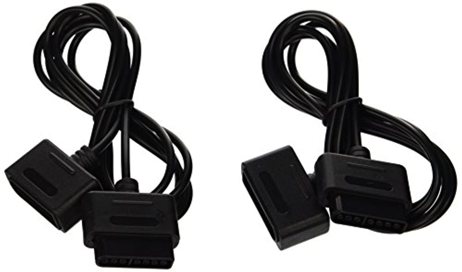 2 X Extension Cable For Super Nintendo SNES Controller For Super Nintendo SNES