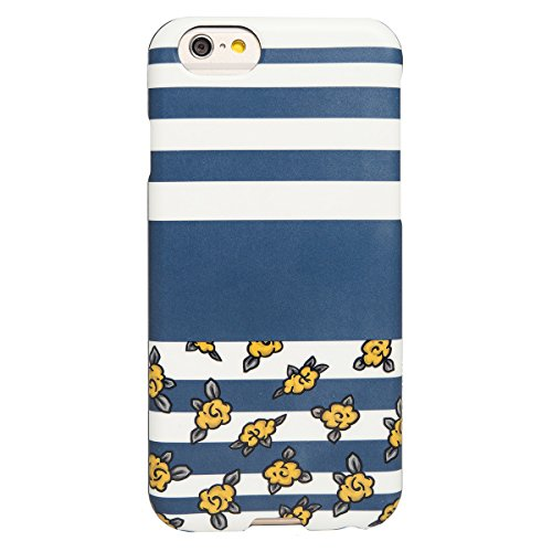AGENT18 iPhone 6 / iPhone 6S Case SlimShield Lines And Yellow Flowers