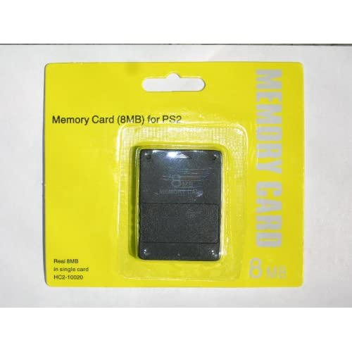 8MB Memory Card For Playstion 2 PS2
