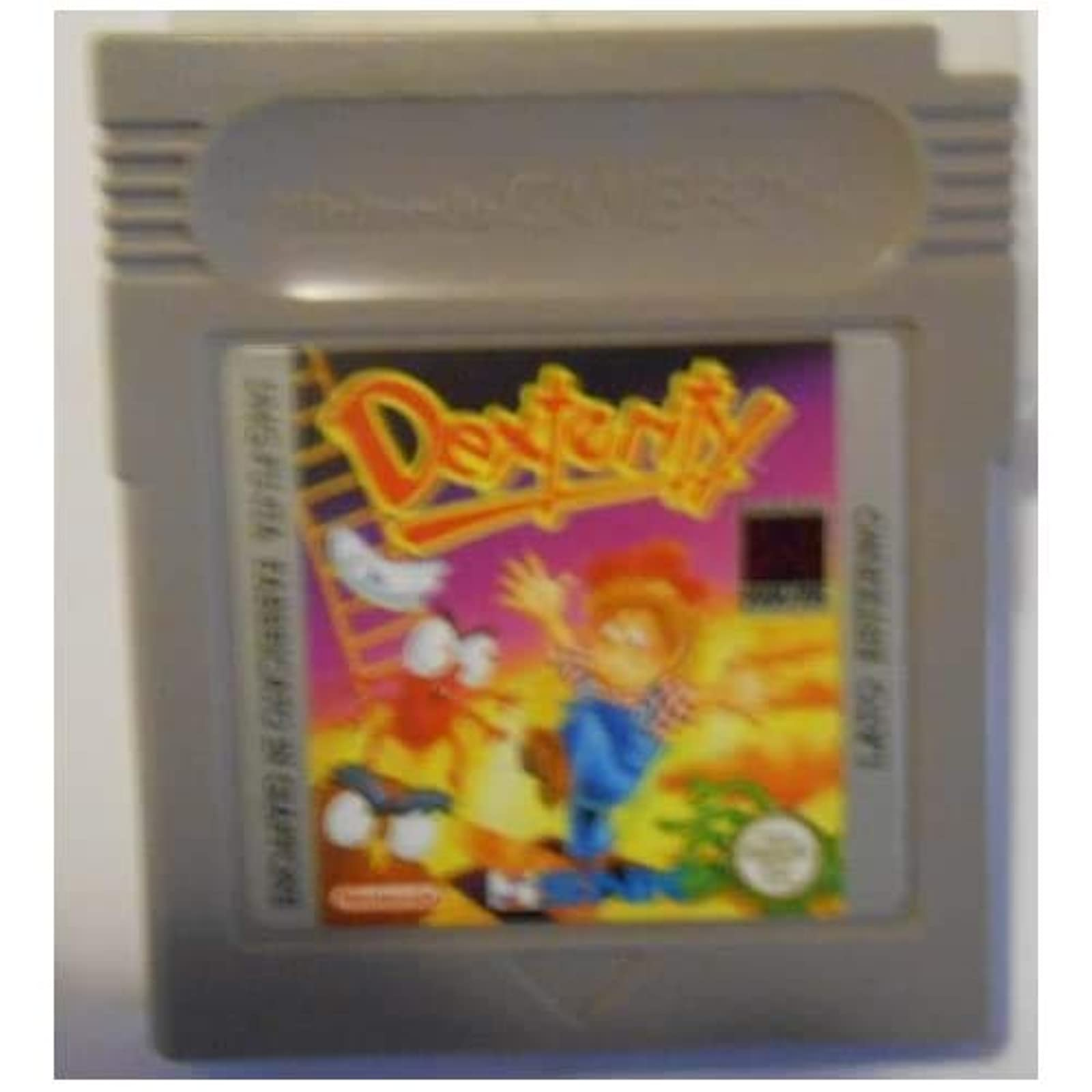 Dexterity Game Boy Game On Game Boy On Gameboy
